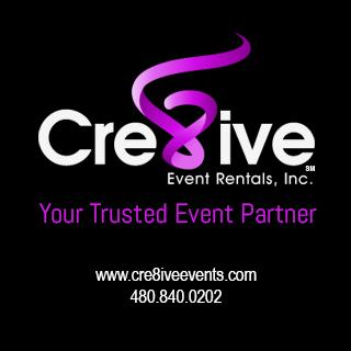 Visit Cre8tive Events Medium Rectangle